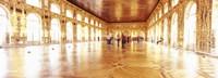 Group of people inside a ballroom, Catherine Palace, Pushkin, St. Petersburg, Russia Fine-Art Print