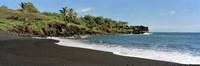 Surf on the beach, Black Sand Beach, Maui, Hawaii, USA Fine-Art Print
