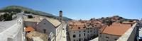High angle view of buildings, Minceta Tower, Dubrovnik, Croatia Fine-Art Print