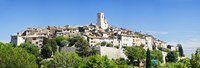 Low angle view of a walled city, Saint Paul De Vence, Provence-Alpes-Cote d'Azur, France Fine-Art Print