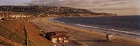 High angle view of a coastline, Redondo Beach, Los Angeles County, California, USA Fine-Art Print