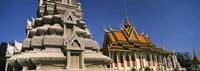 Pagoda near a palace, Silver Pagoda, Royal Palace, Phnom Penh, Cambodia Fine-Art Print