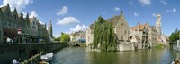 Rozenhoedkaai, Bruges, West Flanders, Belgium Fine-Art Print