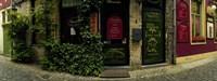 Street corner, Patershol, Ghent, East Flanders, Flemish Region, Belgium Fine-Art Print