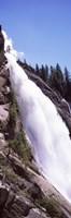 Low angle view of a waterfall, Nevada Fall, Yosemite National Park, California, USA Fine-Art Print