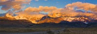 Golden Clouds Over Monte Fitz Roy, Argentina Fine-Art Print