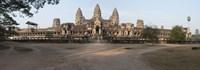 Facade of a temple, Angkor Wat, Angkor, Cambodia Fine-Art Print