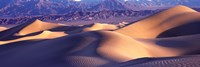 Sand Dunes and Mountains, Death Valley National Park, California Fine-Art Print