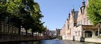 Canal in Bruges, West Flanders, Belgium Fine-Art Print