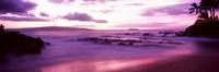 Maui Coast at sunset, Makena, Maui, Hawaii, USA Fine-Art Print