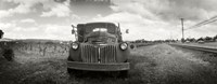 Old truck in a field, Napa Valley, California, USA Fine-Art Print