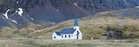 Old whalers church, Grytviken, South Georgia Island Fine-Art Print