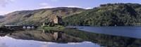 Eilean Donan Castle with reflection in the water, Highlands Region, Scotland Fine-Art Print