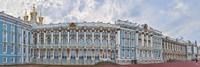 Catherine Palace courtyard, Tsarskoye Selo, St. Petersburg, Russia Fine-Art Print