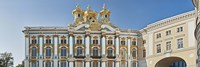 Architectual detail of Catherine Palace, St. Petersburg, Russia Fine-Art Print