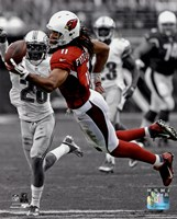 Larry Fitzgerald 2013 Spotlight Action Fine-Art Print