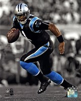 Cam Newton 2013 Spotlight Action Fine-Art Print