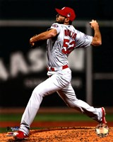 Michael Wacha Game 2 of the 2013 World Series Action Fine-Art Print