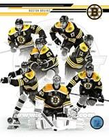 Boston Bruins 2013-14 Team Composite Fine-Art Print