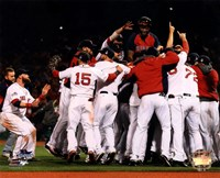 Boston Red Sox winning Game Six of the 2013 World Series Fine-Art Print