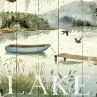 Lakeside II Fine-Art Print