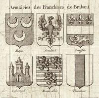 Restoration Period French Armory II Framed Print