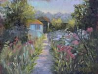 Monet's Garden V Fine-Art Print