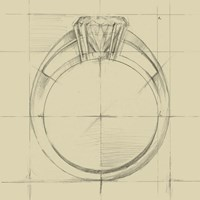 Ring Design I Fine-Art Print