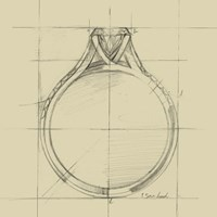 Ring Design II Fine-Art Print
