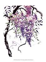 Wisteria Garden I Fine-Art Print