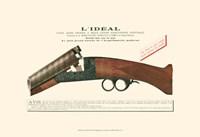Antique Pistol IV Fine-Art Print