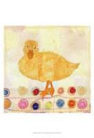 Polka Dot Duck Fine-Art Print