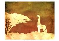 Safari Sunrise IV Fine-Art Print