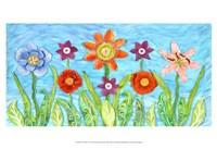 Flower Play I Fine-Art Print