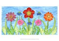 Flower Play II Fine-Art Print