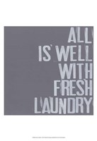 Fresh Laundry I Fine-Art Print