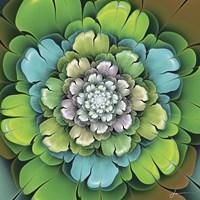 Fractal Blooms I Fine-Art Print
