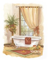 Watercolor Bath in Spice II Fine-Art Print