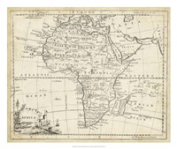 Map of Africa Fine-Art Print
