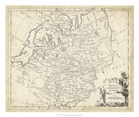Map of Russia Fine-Art Print