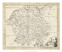 Map of Germany Fine-Art Print