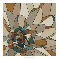 Stained Glass Floral II Fine-Art Print