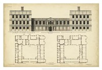 Elevation & Plan for Castle Abby Fine-Art Print