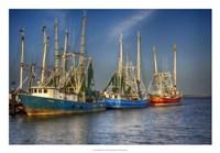 Shrimp Boats III Fine-Art Print