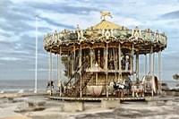 Arcachon Carousel Fine-Art Print