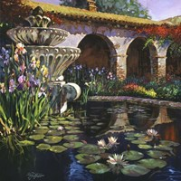 Fountain at San Miguel II Fine-Art Print
