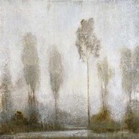 Misty Marsh II Fine-Art Print