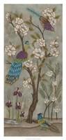 Gardenia Chinoiserie I Fine-Art Print