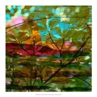 Abstract Leaf Study III Fine-Art Print
