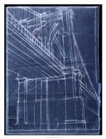 Bridge Blueprint II Fine-Art Print